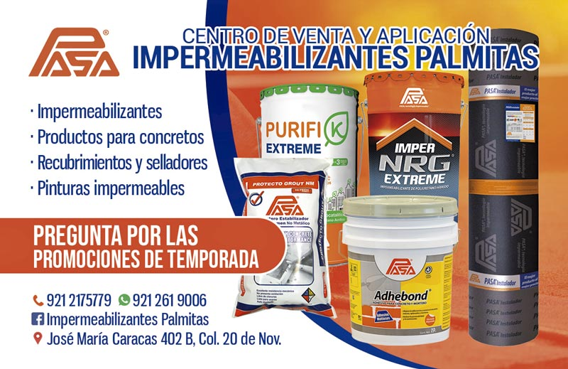 Impermeabilizantes Palmitas